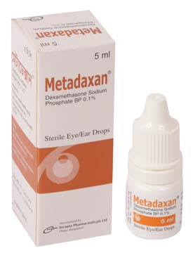 Metadaxan Eye/Ear Drops