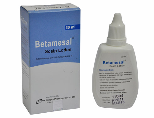 Betamesal Scalp Lotion