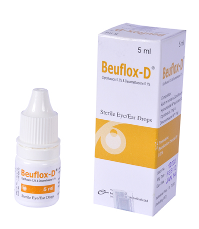 Beuflox-D Eye/Ear Drops