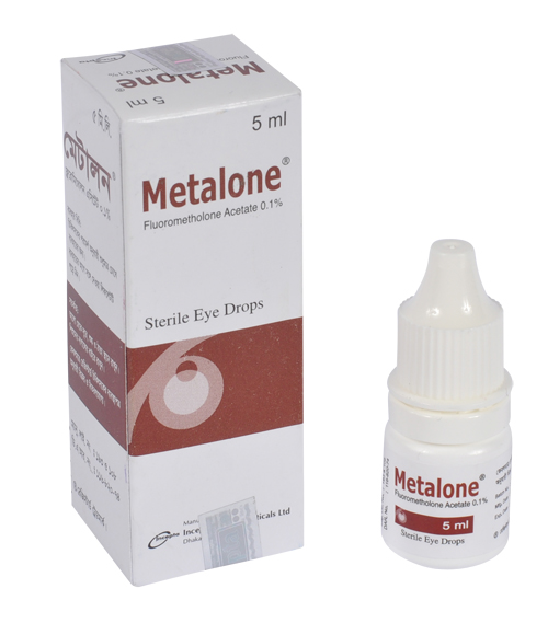 Metalone Sterile Ophthalmic Suspension